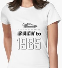 Back to 1985 Women's Fitted T-Shirt