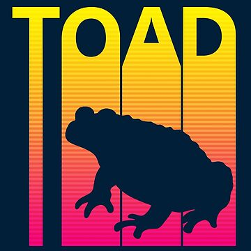 Retro 1980s Toad by polveri