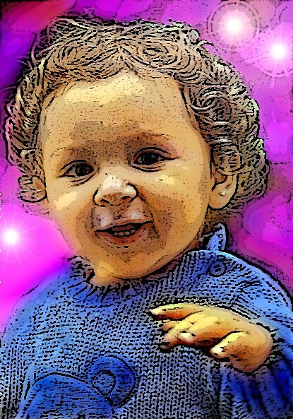 Hello Wave - Posterised Photo Manipulation by PhoenixArt
