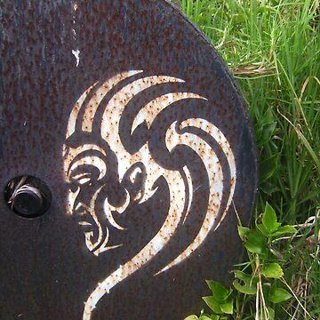 Maori Stencil Art by kre8ted4u