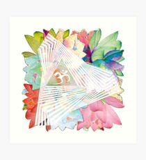 psychedelic trance Art Print