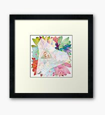psychedelic trance Framed Print