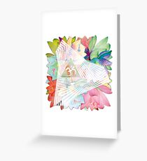 psychedelic trance Greeting Card