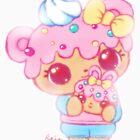 Cute Kawaii Num Nom Yummy Dottie & Bunfetti Toy Anime Fan Art by BonBonBunny