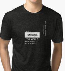 Camiseta de tejido mixto Desenmarañar