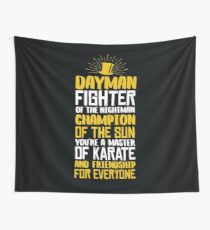 DAYMAN! Champion of the Sun! Wall Tapestry