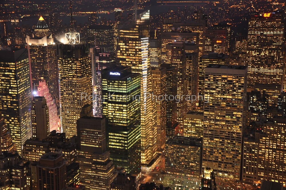 City Lights by Rosy Kueng Photography