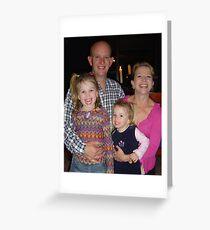 David's Family Greeting Card