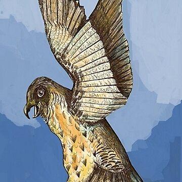 Hawk Touchdown by dorcas13
