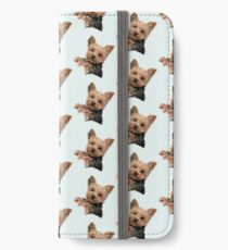 Chewie the Adorable Yorkie iPhone Wallet/Case/Skin