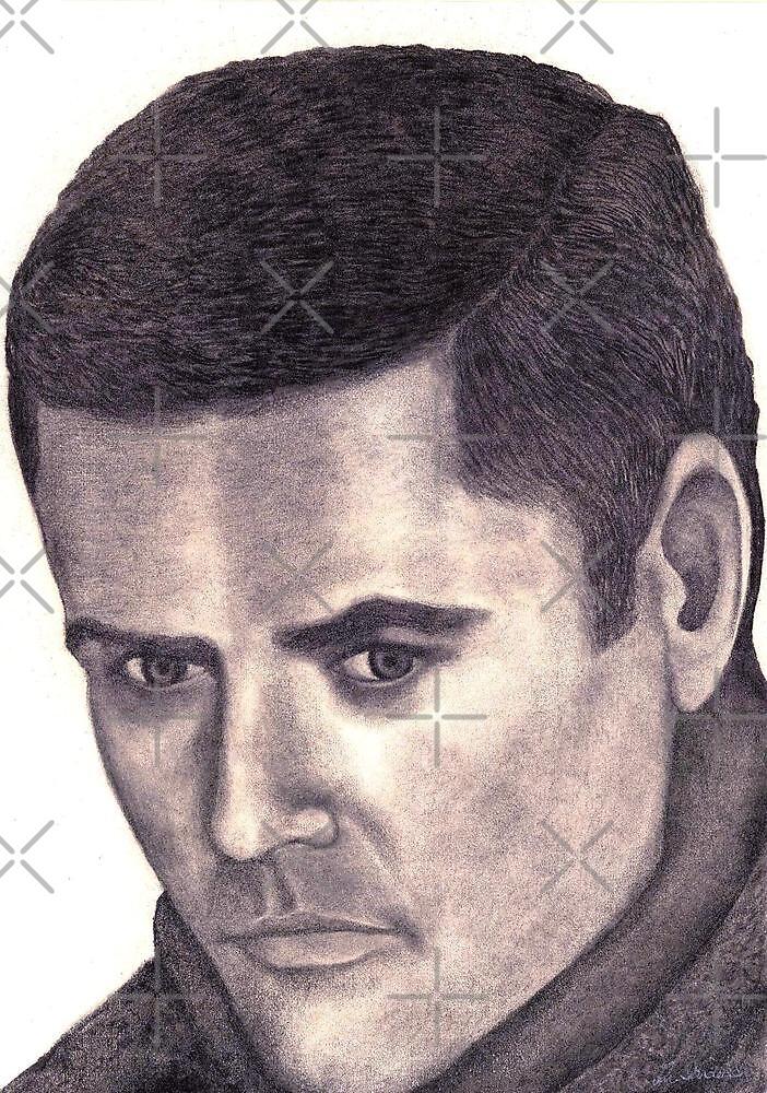 Donny Osmond celebrity portrait by Margaret Sanderson