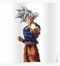 Póster Goku Mastered Ultra Ins