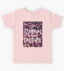 The Fandom Chooses the Fangirl Kids Tee
