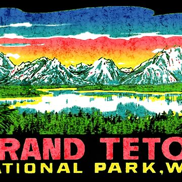 Grand Teton National Park Wyoming USA by midcenturydave