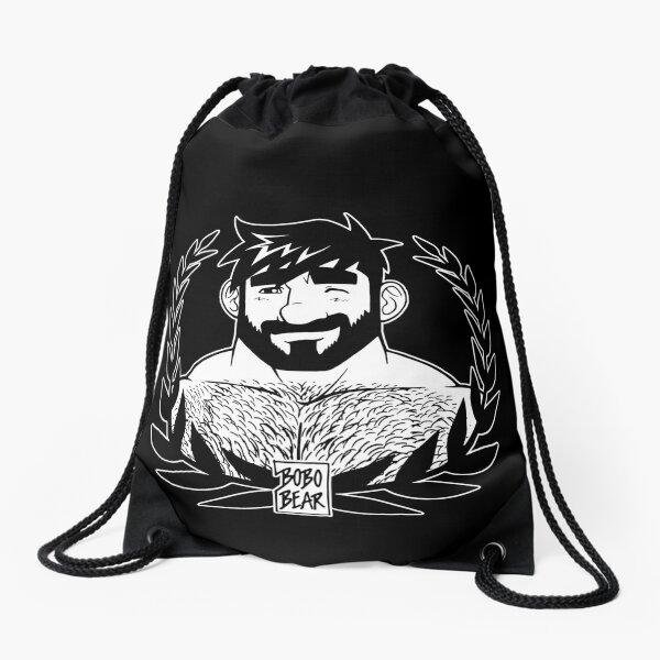 ADAM LIKES LAUREL Drawstring Bag