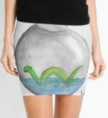 Nessie in a bottle Mini Skirt