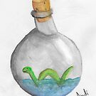 Nessie in a bottle by AndiPi
