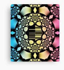 Rosary fractal pattern Canvas Print