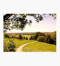 Walk into the Countryside Photographic Print