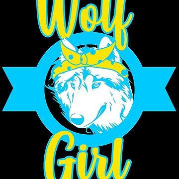 Wolf Girl Wolves Gift Women Mom Wife Aunt Gifts by kh123856