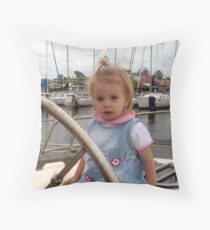 Katie Sailing Throw Pillow