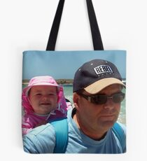 Bronte and Daddy Tote Bag