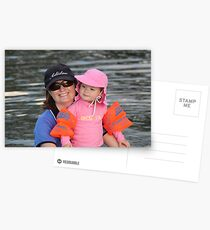 Bronte and Mummy Postcards