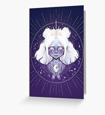 Lunar Guardian Carte de vœux