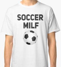 Fußball-MILF-lustiges Mamma-T-Shirt Classic T-Shirt