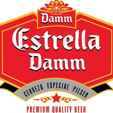 Estrella Damm, Spains beer - Barcelona by estudio3e