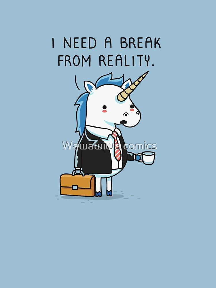 Need a break by AndresColmenare