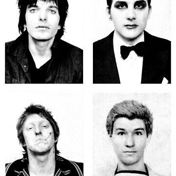 THE DAMNED 1977 Portraits by shnooks