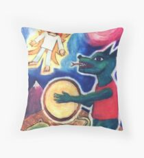 Shaman In The Overworld Throw Pillow
