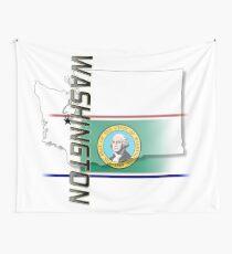 Washington - vertikal Wandbehang