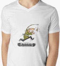 Exploitation Men's V-Neck T-Shirt