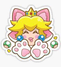 Cat Peach ♥ Sticker