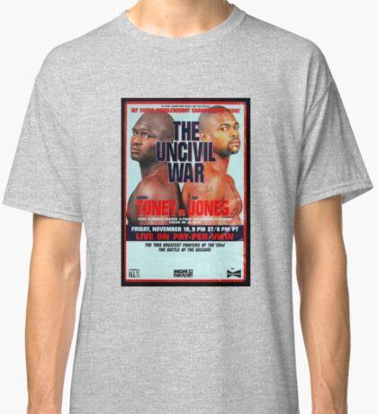 Toney vs Roy Jones Jr: Uncivil War Camiseta clásica