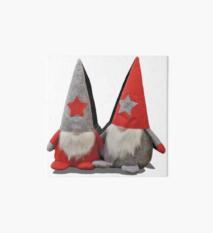 3D Christmas Gnomes Art Board