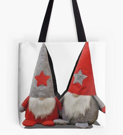 3D Christmas Gnomes Tote Bag