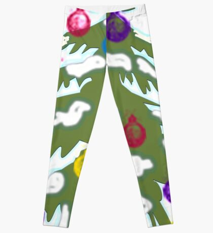 Christmas Tree 2018 Leggings