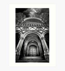 Doorway to The Transept Art Print