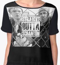 Straight Outta Scranton Chiffon Top