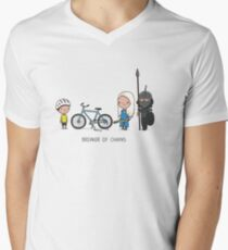 Breaker of chains Men's V-Neck T-Shirt
