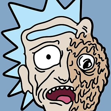 half melted RICK by castl3t0ndesign