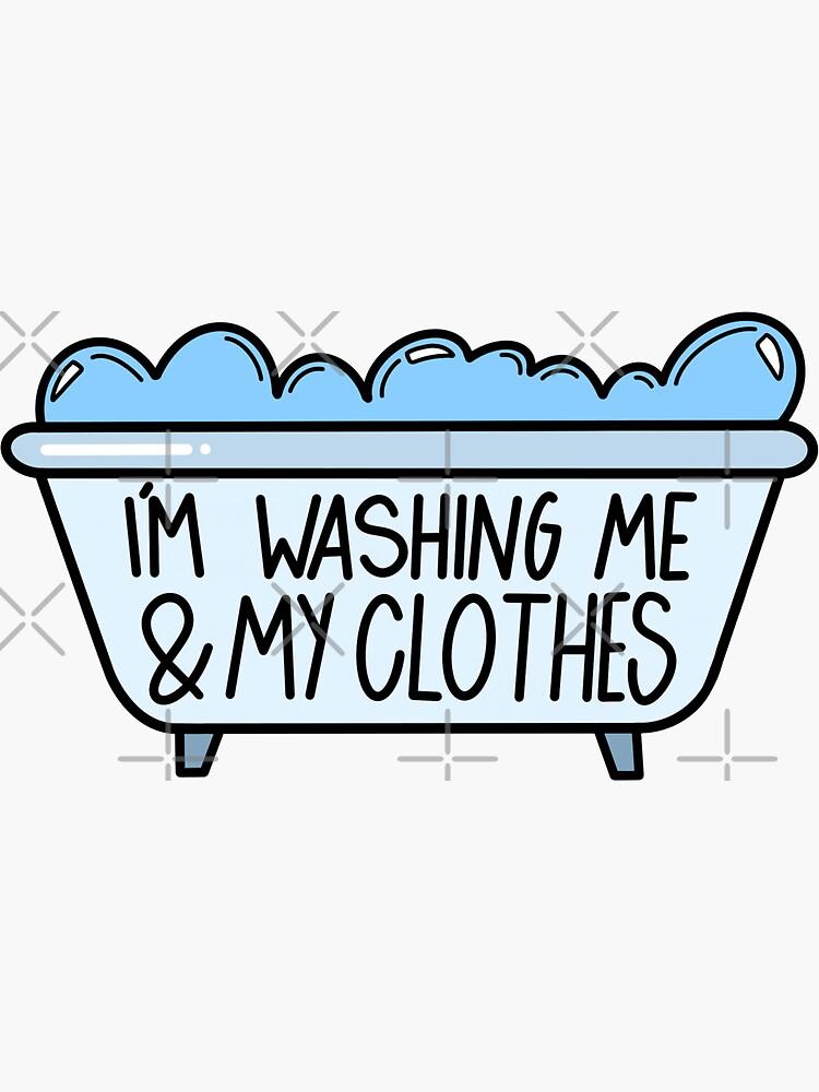 Me estoy lavando y mi ropa de binabina24