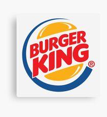Burger King Logo Canvas Print
