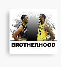 Brotherhood - Lebron and Dwade Canvas Print