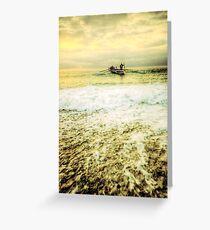 Surf Lifesavers Greeting Card