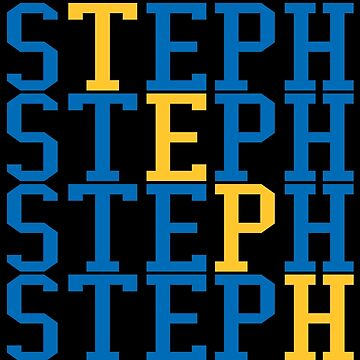 Steph Curry Word Art by RatTrapTees