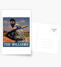 Ted Williams Postkarten
